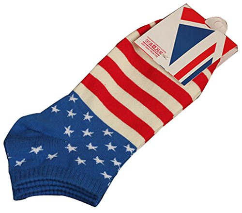 BLANCHO BEDDING Lot de 2 Flag Chaussettes en Coton Chaussettes pour Hommes Chaussettes Chaussett #01