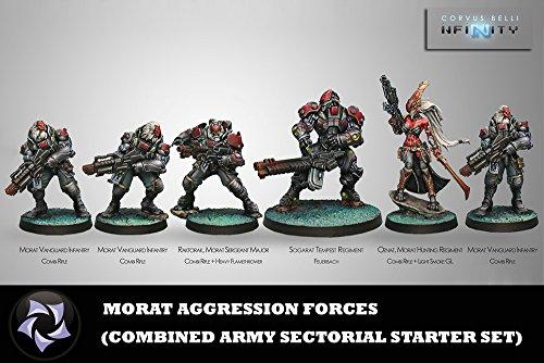 Morat Agression Forces Starter Miniatures Infinity Corvus Belli by Corvus Belli