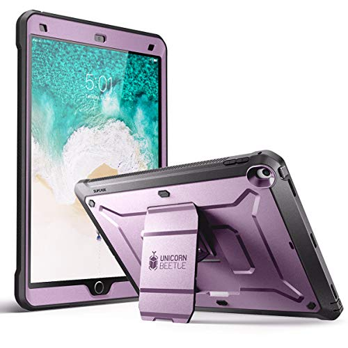 SUPCASE Unicorn Beetle PRO Case for iPad Air 3 (2019) and iPad Pro 10.5'' (2017), Heavy Duty with Built-in Screen Protector Full-Body Rugged Protective Case (Purple)