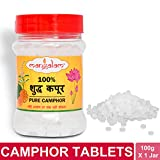 WHY PRAY WITH CAMPHOR:As per our holy scriptures, pure camphor symbolises union with god as it burns completely, leaving behind no trace. Pure Camphor aarti dispels negativity, keeps one healthy and attracts prosperity HOW TO CHECK THE PURITY OF CAMP...