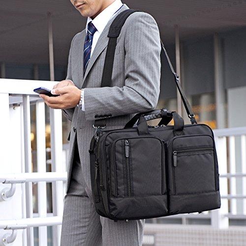 サンワダイレクト3WAYビジネスバッグ大容量31.8Lマチ拡張2~3泊出張対応15.6型ノートPC対応200-BAG065