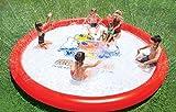 WOW Sports Giant Super Splash Pad 12 Feet Diameter Inflatable Splash Pad with Sprinkler | 21-2050