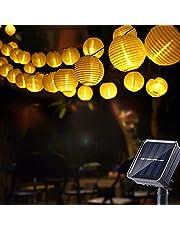Geemoo Solar Lichtsnoer Buiten Lampions