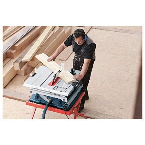 Bosch GTS 10 XC Professional Tischkreissäge, 2.100-Watt-Motor mit Motorbremse, Schnitthöhen bis 79 mm, Sägeblattdurchmesser 254 mm, Karton, 0601B30400 - 2