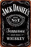 N/ A Jack Daniel's Sour Mash Retro Wanddekoration Metall