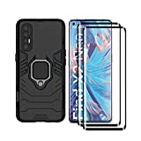 HAOYE Case for OPPO Find X2 Neo and 2 Screen Protector, 360