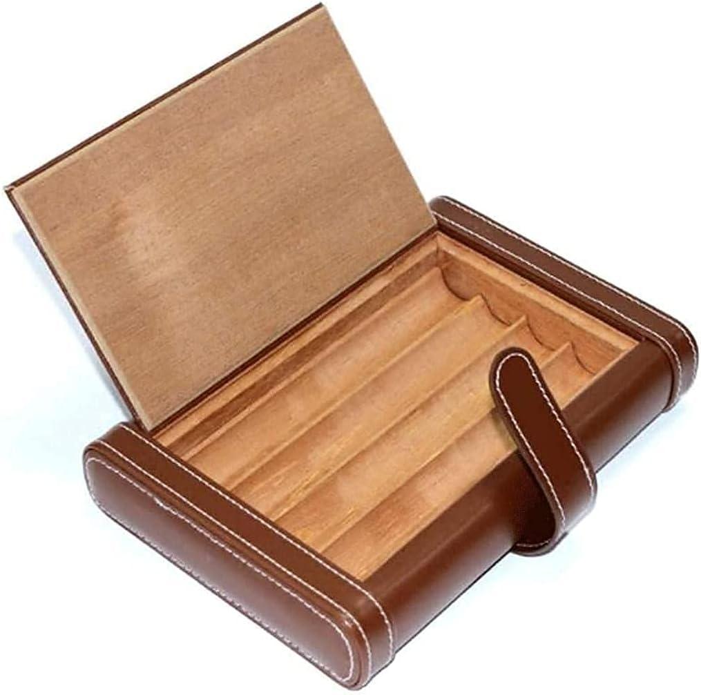 HONGLIUDSF Elegant Atmosphere Cigar Inexpensive Portable Humidor New Orleans Mall Leat Travel