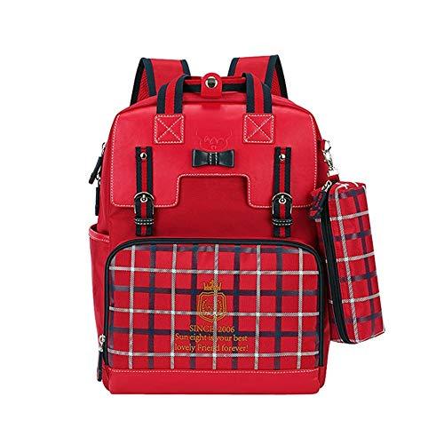 Mochila ergonómica, Schoolbag for Las niñas de 6 a 12 años.Mochila for niños.Regalo de cumpleaños Ideal for niñas o Hijas o nietas (Color : C)