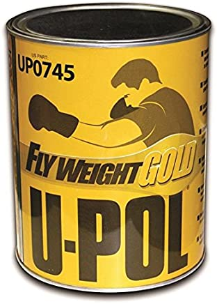 U-Pol Products 0745 FLYWEIGHT GOLD Lightweight Body Filler - 3 Liter