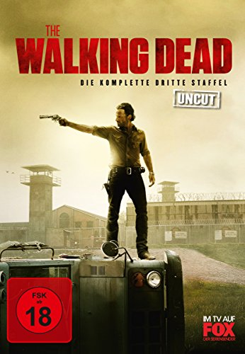 The Walking Dead - Die komplette dritte Staffel (Uncut, 5 Discs)