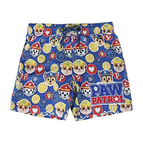 Paw Patrol The S0713038 One Piece Swimsuit, Azul, 3-4 años Boys