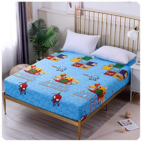 Haiba Lusso Lenzuola 88x168cm 15cm profondo Lenzuolo con angoli in Cotone Tinta unita Bed Cover Quattro Angoli Con Fascia Elastica Coprimaterasso Qualità Cotone Lenzuolo