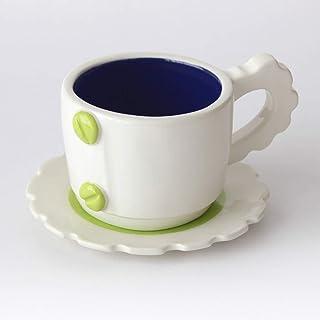 Taza de té con diseño mecánico, Más colores disponibles, Mango de engranaje, Cerámica artesanal, Hecho en Italia – 100ml (...
