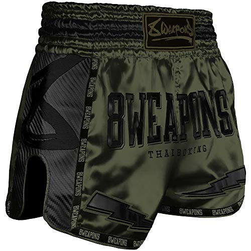 8 Weapons Shorts, Carbon, Underworld Olive, M