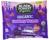 Black Forest Organic Gummy Hearts, Assorted Flavors, 15 Pouches