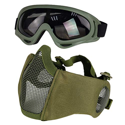 Top 10 best selling list for airsoft face mask and goggles