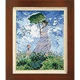 ししゅうキット 7215(オフホワイト) アートギャラリー 「日傘をさす女」モネ作 4491g