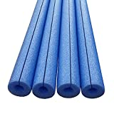 Honor Traders Clamp On Foam Noodles for Padding or Bumper 4 Pack Blue