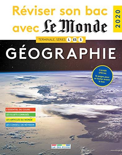 pas cher un bon Le Monde 2020: Améliorez votre licence en géographie, Terminale L, ES, S.