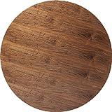 Invitation - Tablero de mesa (120 cm de diámetro), color nogal
