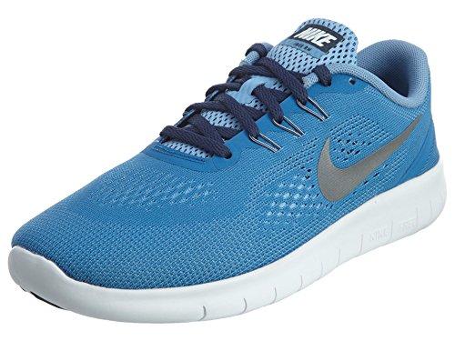 Nike 833993-402 Sportschuhe für Trail Running, Mädchen, Blau, 36 1/2