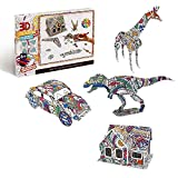 Painting 3D Jigsaw Puzzle for Adults,Gifts for 7 8 9 Year Old Girls&Boys,Arts & Crafts Supplies Toys.