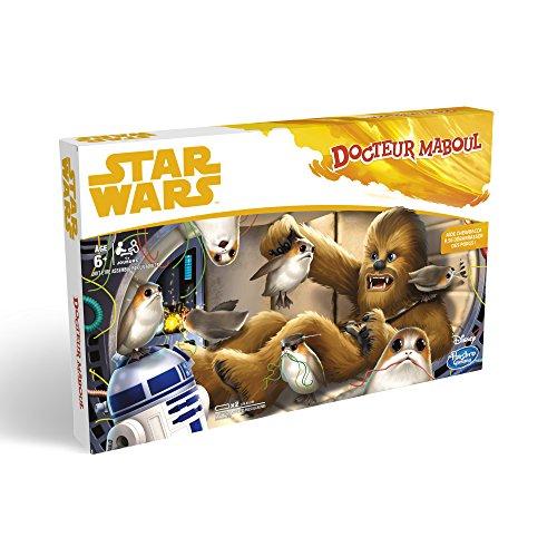 Hasbro gaming- Docteur Maboul Star Wars Jeu de Société, E1782, Multicolore