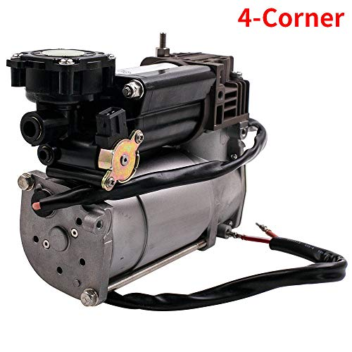 maXpeedingrods Air Suspension Compressor Pump+Relay for X5 E53 4-Corner 2000-2006