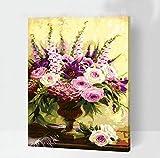 Xyywqybg Cadeau De Peinture À L'Huile De Bricolage Numérique Parfum Séduisant Décoration Murale Pour Maison Salon Chambre Bureau Cadeau-60X75Cm, Framed