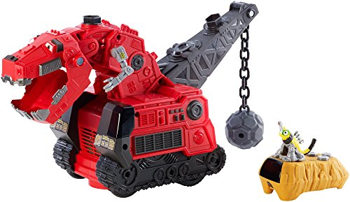 Dinotrux Reptool Control Ty Rux Toy Vehicle by Mattel