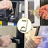 Matedepreso Hand Door Opener Closer No-Touch Press Elevator Hand Stick Elevator Tool Reusable Handle Tools for Keep Hands Clean