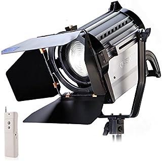 150W LED Spot luz sin Hilos Bicolor Spotlight Estudio de Fresnel de luz LED 3200 / 5500K para la iluminación Foto Video