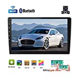 Double Din Android Car Radio GPS Navigation Stereo with 9'' HD 1080P Touch