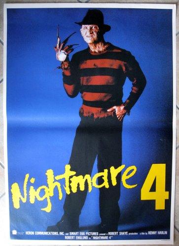 Poster Manifesto ORIGINALE - NIGHTMARE 4 - IL NON RISVEGLIO - THE DREAM 70x100cm