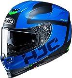 HJC Helmets Casco de Moto Hjc Rpha 70 Balius Mc2Sf, Negro/Azul, Xl