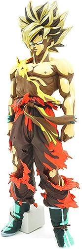 WOAINI Dragon Ball Super DXF pour Garçon - Les Super Guerriers - Collection de Figurines - Figurine Super Saiyan bleu Vegeta