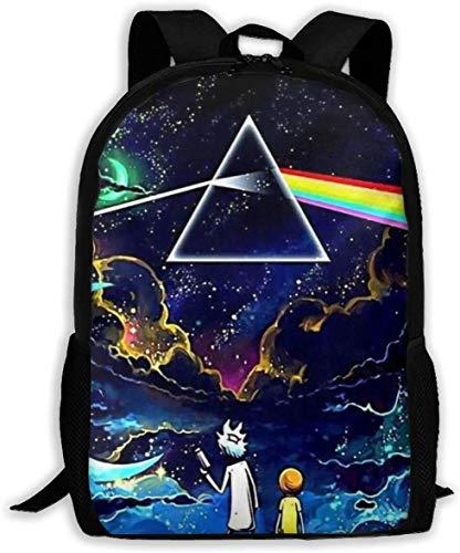 Gsixgoods Mochila Rick Morty School Backpack Fashion Cartoon Bags Bookbag for Kids Boys