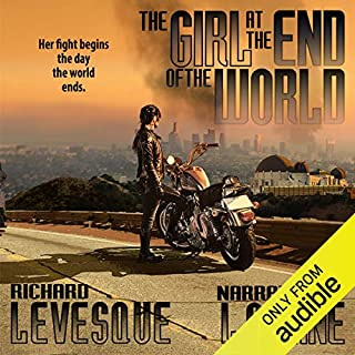 The Girl at the End of the World                   By:                                                                                                                                 Richard Levesque                               Narrated by:                                                                                                                                 LC Kane                      Length: 7 hrs and 59 mins     4 ratings     Overall 3.8