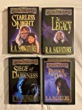R.A. Salvatore LEGEND OF DRIZZT 7-10 LEGACY OF THE DROW Forgotten Realms TSR