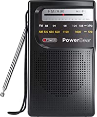 AM/FM RADIO: The best way to listen to your favorite FM & AM radio stations on the go PORTABLE & COMPACT: Small hand held size, fits in your pocket BATTERY POWERED: *Requires 2AA Batteries* Battery operated, lasts over 800 hours HIGH QUALITY SPEAKER:...