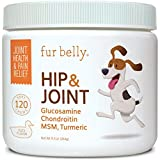 IMPROVED HIP & JOINT MOBILITY - Our hip and joint dog treats can help provide joint support for dogs and improve mobility by renewing cartilage and repairing joint tissue. DOG PAIN RELIEF - Our dog arthritis supplement supports pain relief for dogs f...