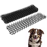 <span class='highlight'>Your</span>'s <span class='highlight'>Bath</span> Cat Scat Mat, Animal Prickle Mat Repellent Deterrent Mat with Spikes for Garden Plants Flowers Fence (10 Pcs)