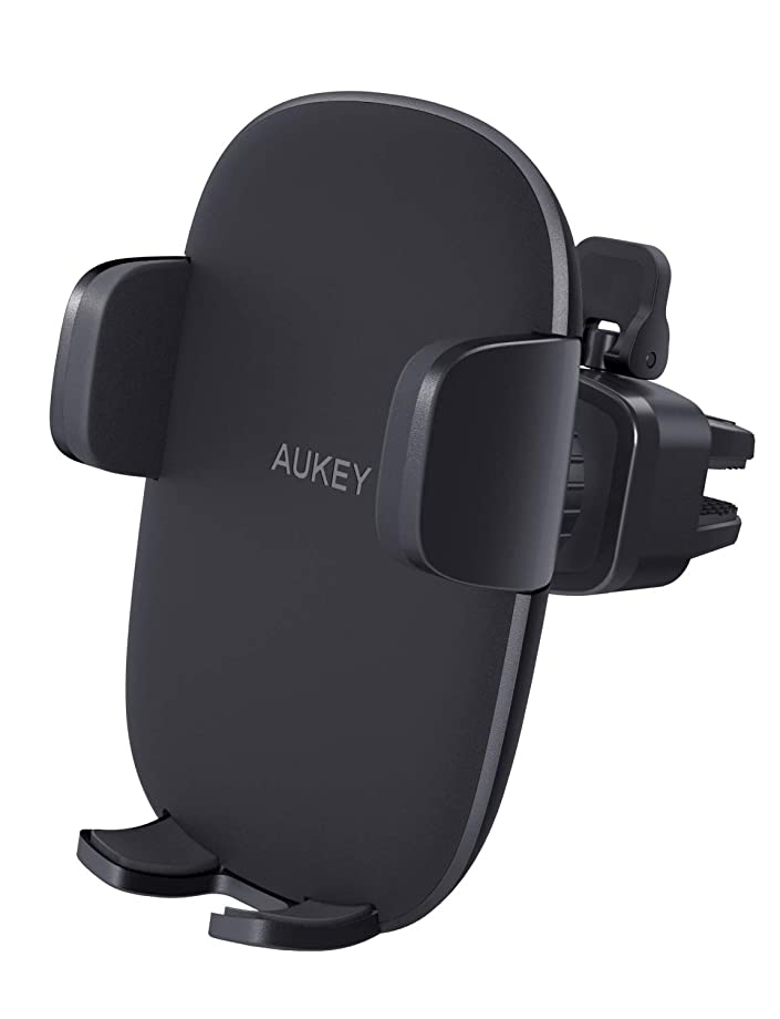 AUKEY Cell Phone Holder for Car Air Vent Phone Holder Car Mount Compatible with iPhone Xs/XS Max / 8/7 / 6, Google Pixel 3 XL, Samsung Galaxy S9+, and Other Phones