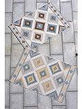 benuta Alfombra Star Kilim para Interior y Exterior, 140 x 200 cm, fácil...