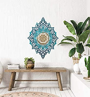 Mandala Wood Home Decor Boho Ethnic Living Room Wall Hanging Morrocan Indian Wall Art