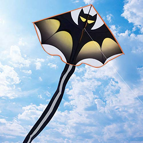HAOMARK Bat Kite - Kites for Kids Adults Easy to Fly Beginners Outdoor Game,Beach Party, Park Activities Great Gift to Kids Childhood Precious Memories