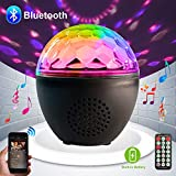 Party lights Disco Ball Bluetooth Speaker LED Strobe Lights Sound Activated, RBG dj