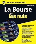 La Bourse pour les Nuls grand format, 4e édition de Gérard HORNY