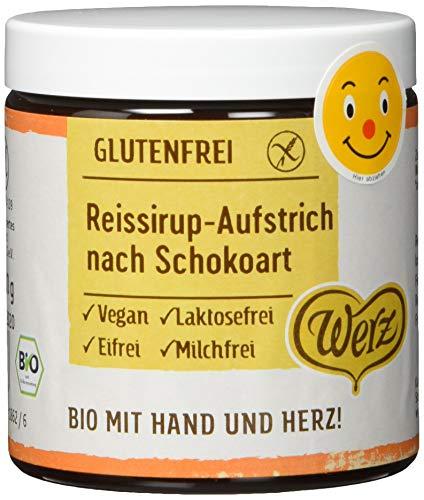 Werz Reissirup-Aufstrich nach Schokoart, glutenfrei, 2er pack (2 x 300g)