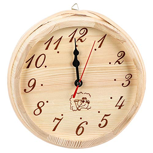 Alinory Wanduhren, Uhr Zubehör Dekor Sauna Zubehör, Sauna Timer Uhr Tragbar für Home Decoration Hotel Office